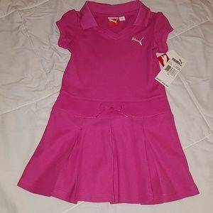 Girls Puma tennis dress